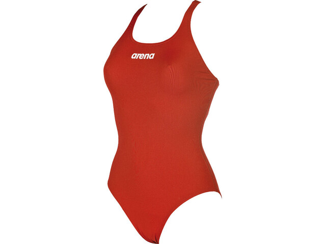 arena Solid Swim Pro One Piece Swimsuit Damen red-white